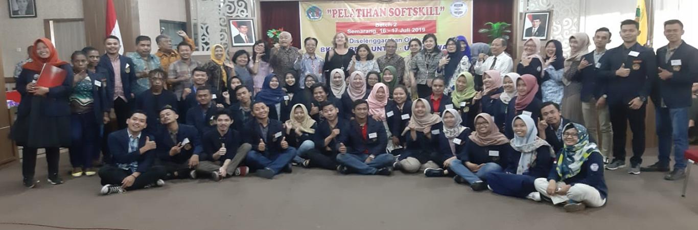 Foto bersama dengan perwakilan USAID Amerika