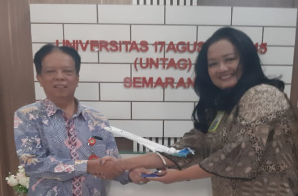 Untag dan PT. Garuda Indonesia Jalin Kerjasama Corporate Sales.